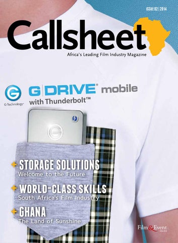 11cde0709c2 The Callsheet Issue 02 2014 by Film   Event Media - issuu