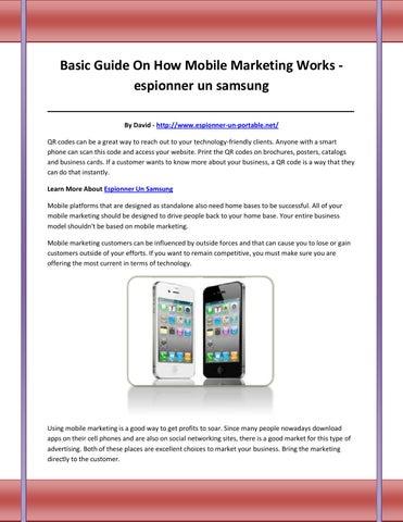 Un guide pour connaitre comment espionner les téléphones Samsung