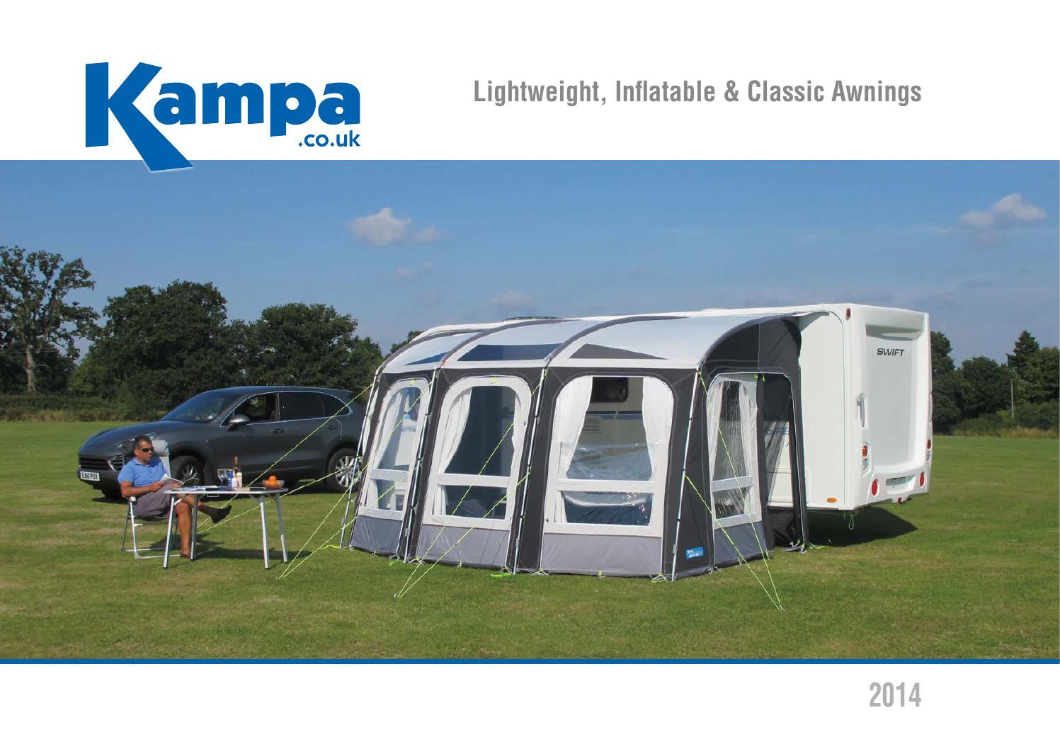 2014 Kampa Caravan Awnings By Venture Caravans Issuu