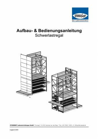 montageanleitung storebest schwerlastregal slr by storebest ladeneinrichtungen gmbh issuu. Black Bedroom Furniture Sets. Home Design Ideas