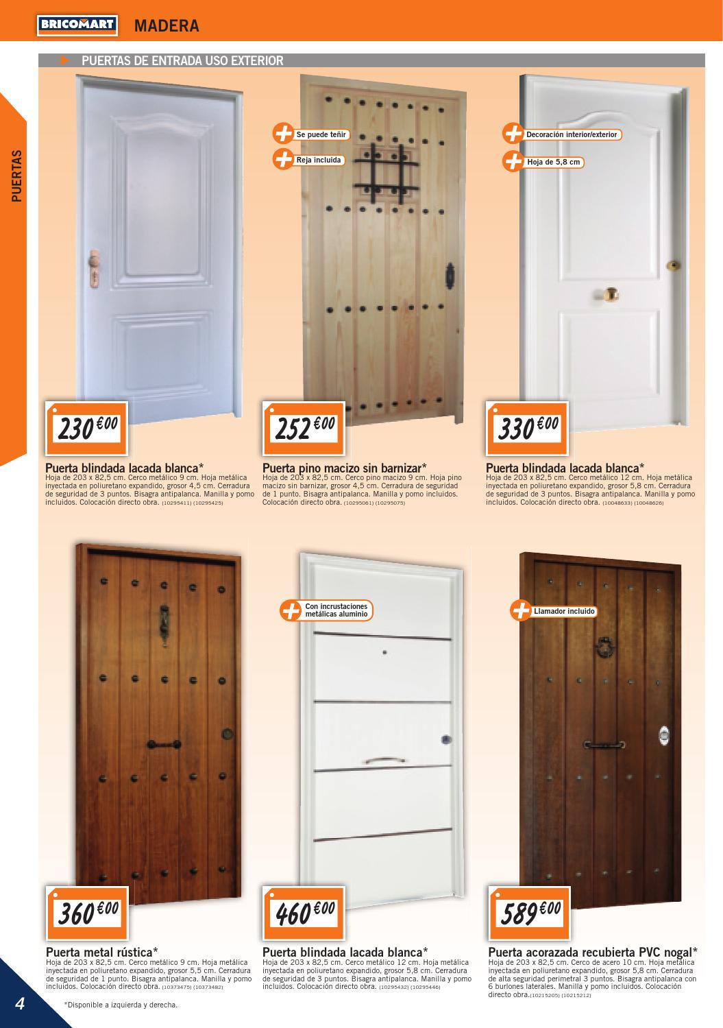 Puertas de interior bricomart puertas de interior - Puertas plegables bricomart ...