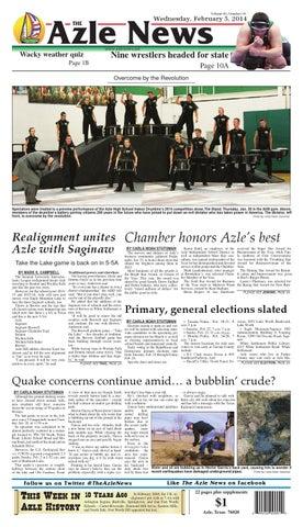 Volume 62, Number 34. Azle News