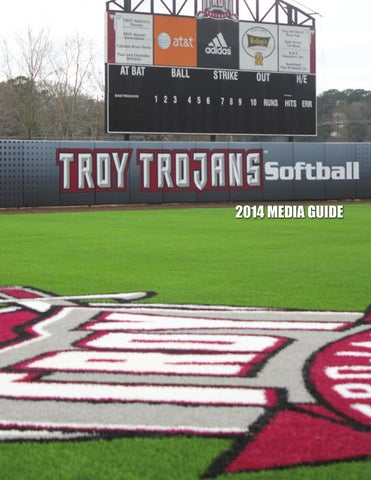 2014 Troy University Softball Media Guide by Troy University