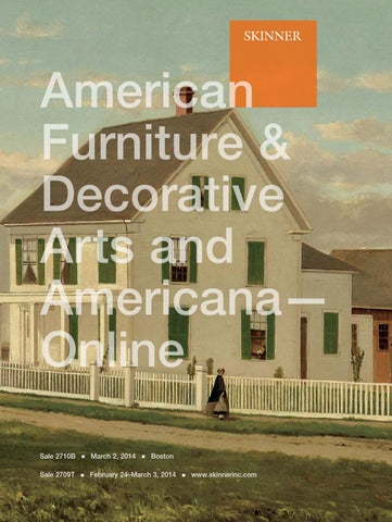 American Furniture Decorative Arts Skinner Auctions