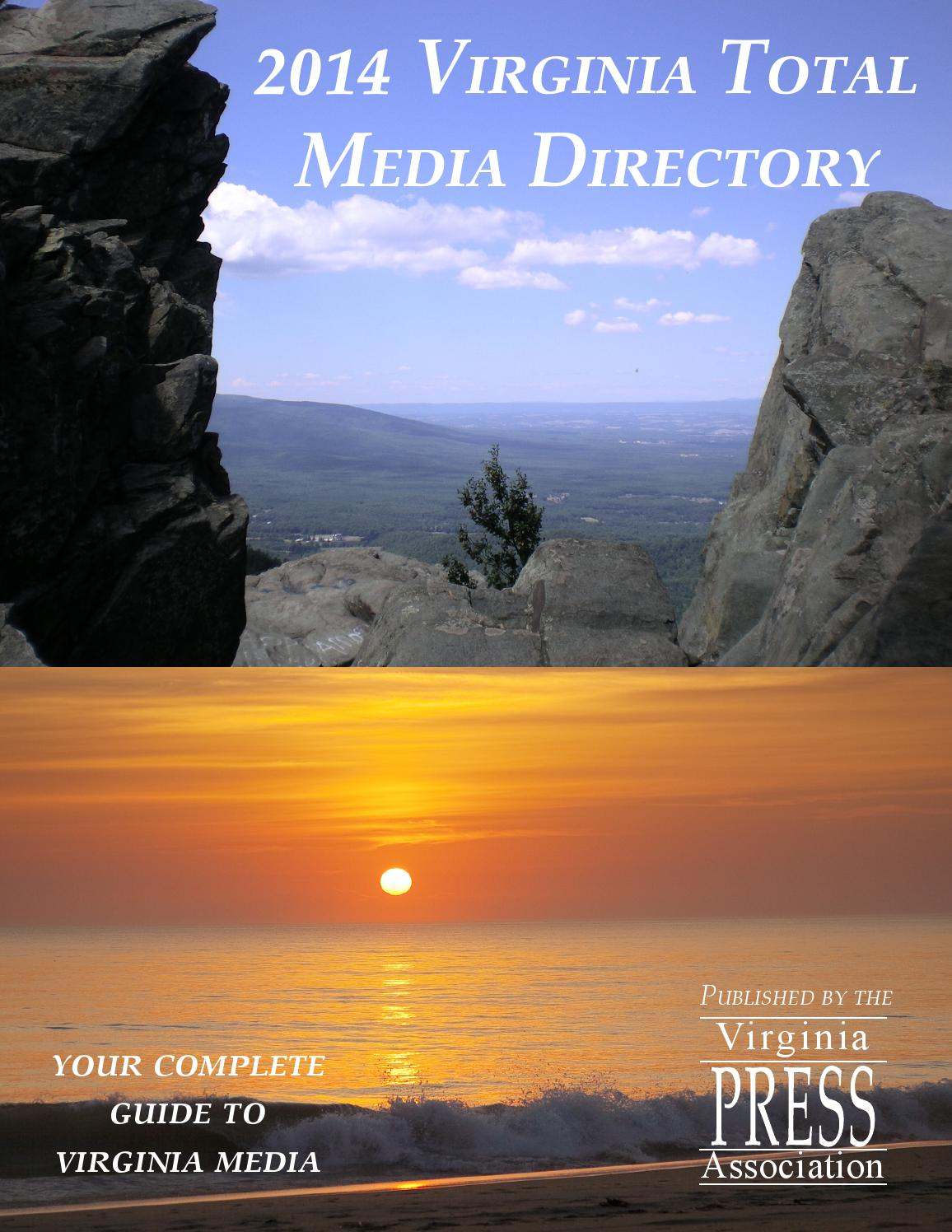 2014 Virginia Total Media Directory by vapress - issuu