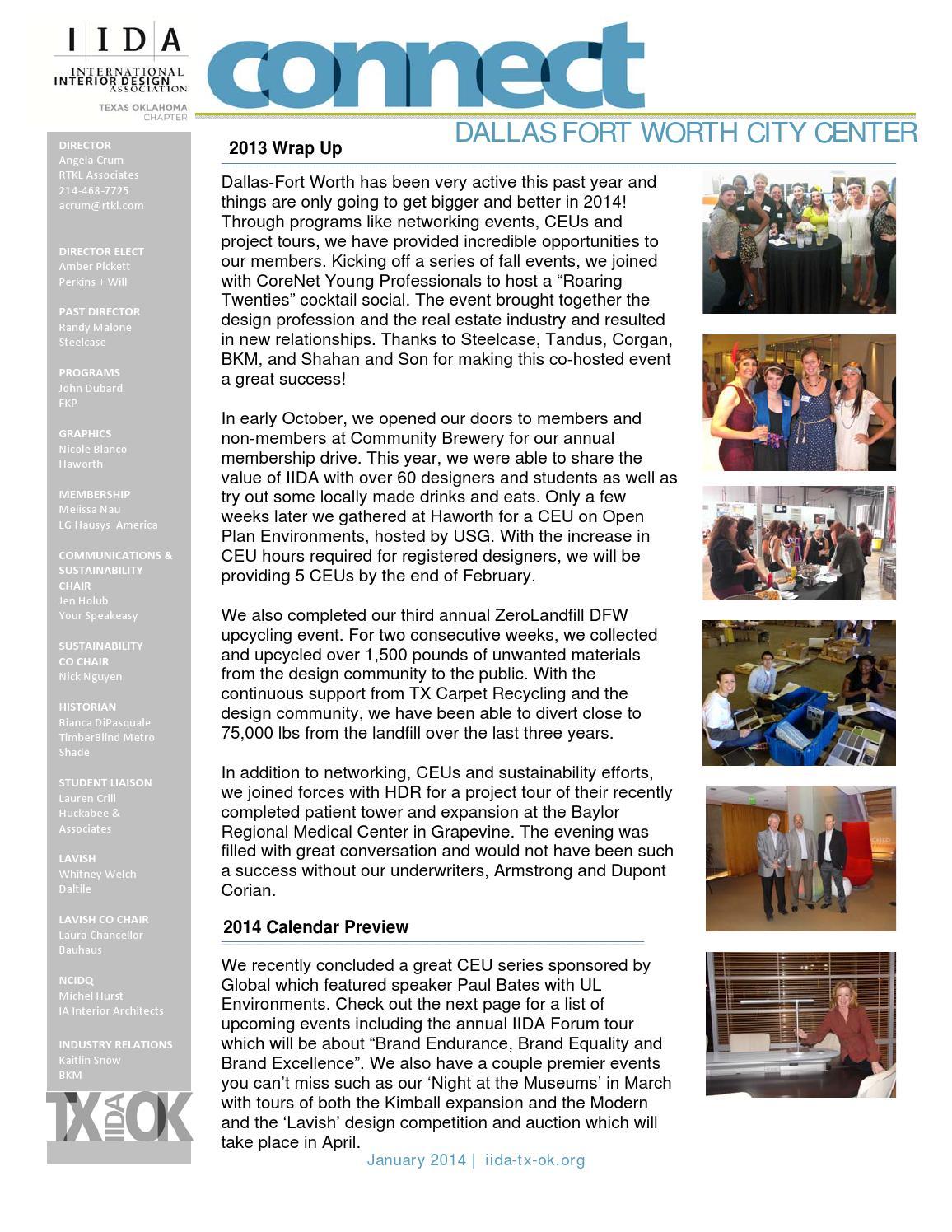 IIDA DFW City Center Connect Newsletter by IIDA Texas ...