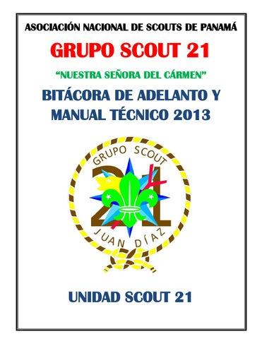Bitácora de adelanto unidad scout 2013 r4 by Jorge E. Pinzon - issuu