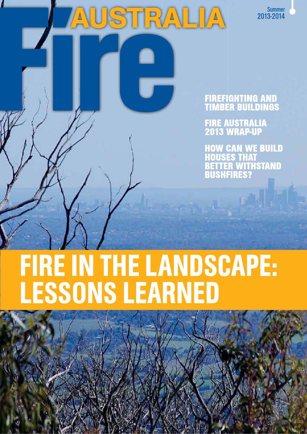 Fire Australia Summer 2013-2014 by AFAC - issuu