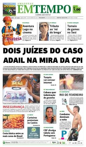 EM TEMPO - 7 de fevereiro de 2014 by Amazonas Em Tempo - issuu c7ab01a241518