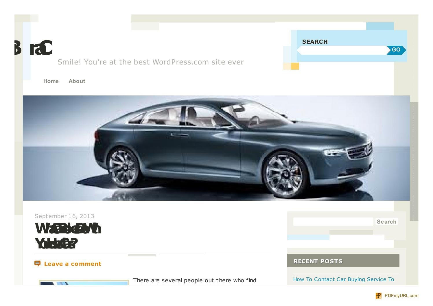 What Car Brokers Do With Your Used Cars by Automo   issuu