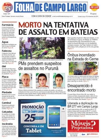 c4f5671f35 Folha de Campo Largo by Folha de Campo Largo - issuu