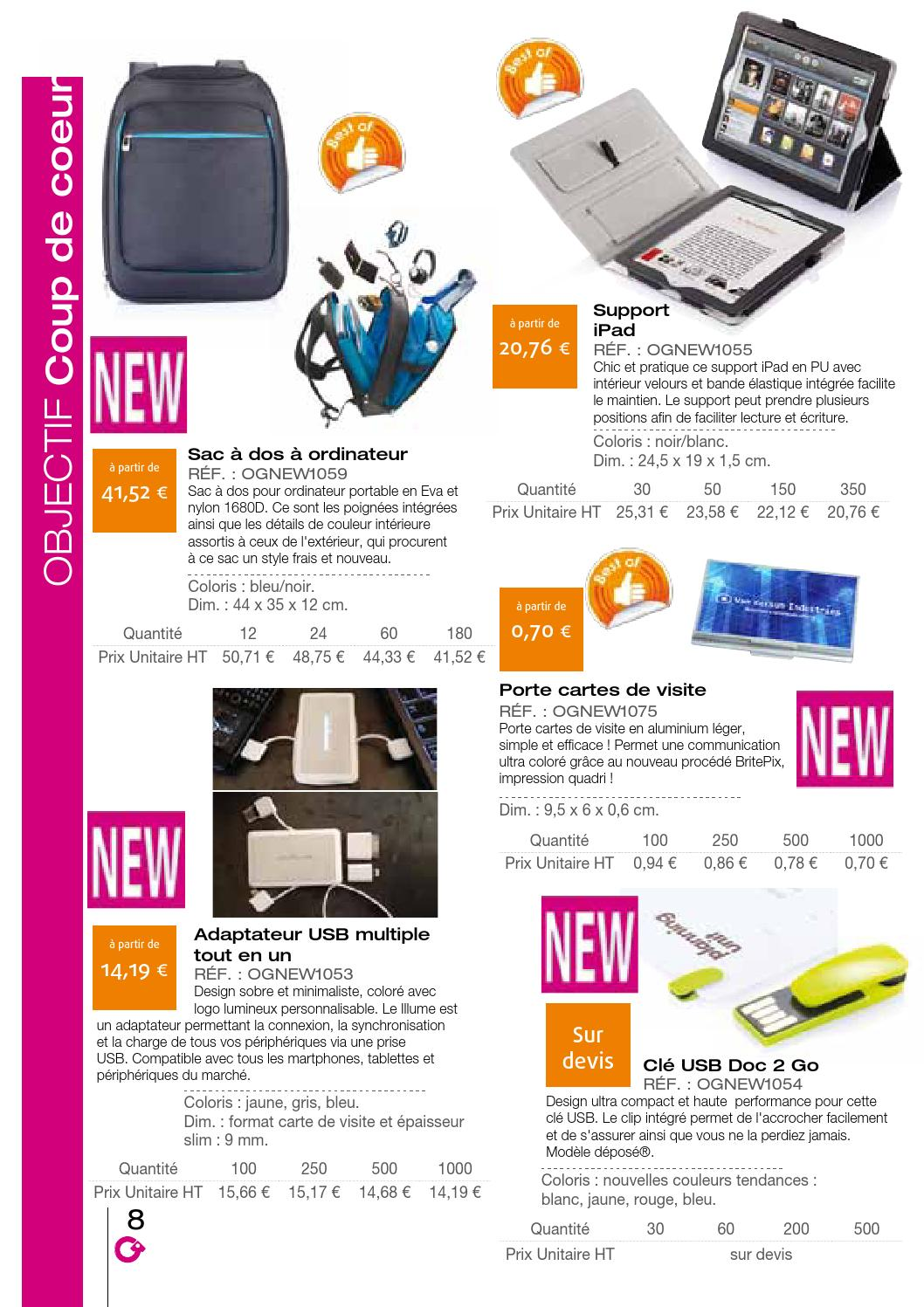 ANSWER CATALOGUE OBJET SEPT 2013 By Objectif Goodies