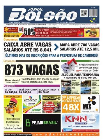 CLASSIFICADOS   NEGÓCIOS NO LITORAL CATARINENSE - Santa Catarina - 31 de  janeiro a 07 de fevereiro de 2014 I Ano XI - ED 549 8b83c9ca91