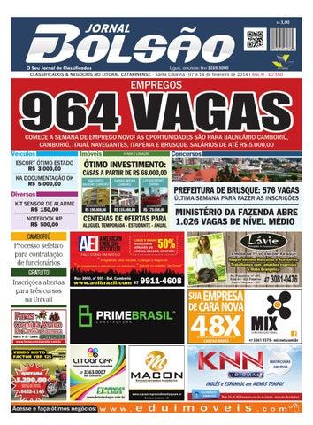 5d8967dd61bfd CLASSIFICADOS   NEGÓCIOS NO LITORAL CATARINENSE - Santa Catarina - 07 a 14  de fevereiro de 2014 I Ano XI - ED 550