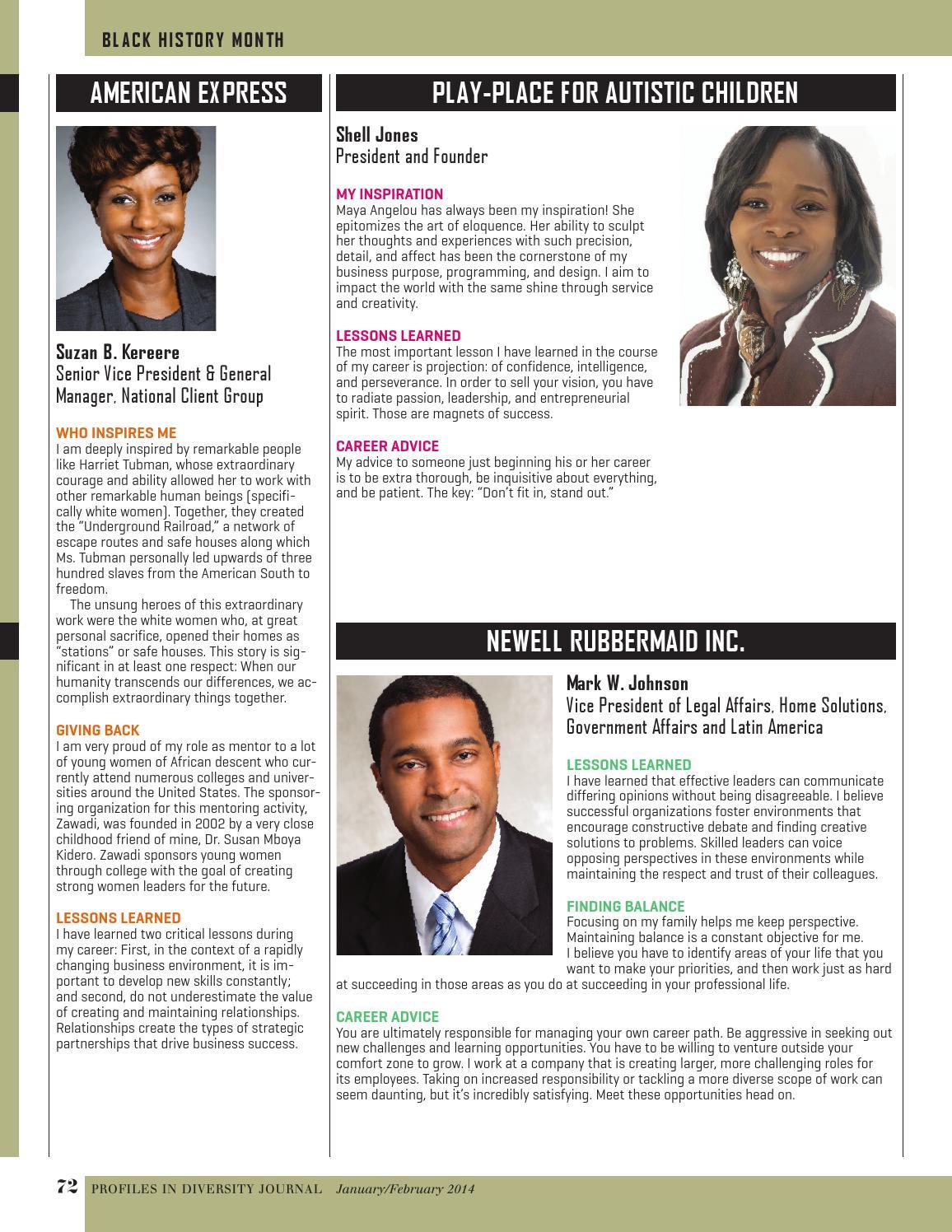 Diversity Journal - Jan/Feb 2014