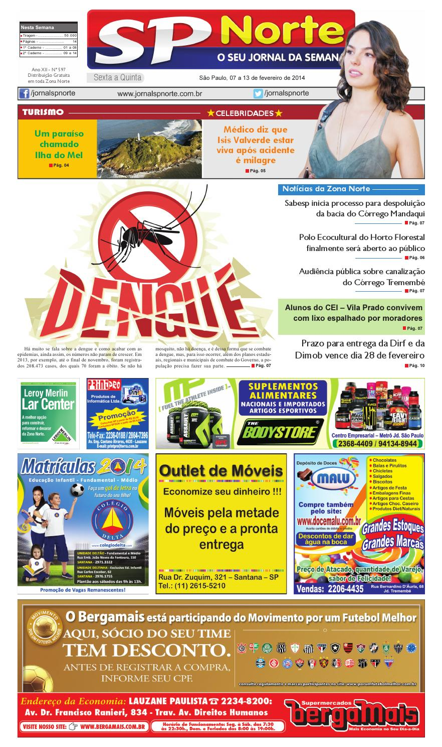 efac7852af53c Jornal SP Norte 597 by Grupo SP de jornais - issuu
