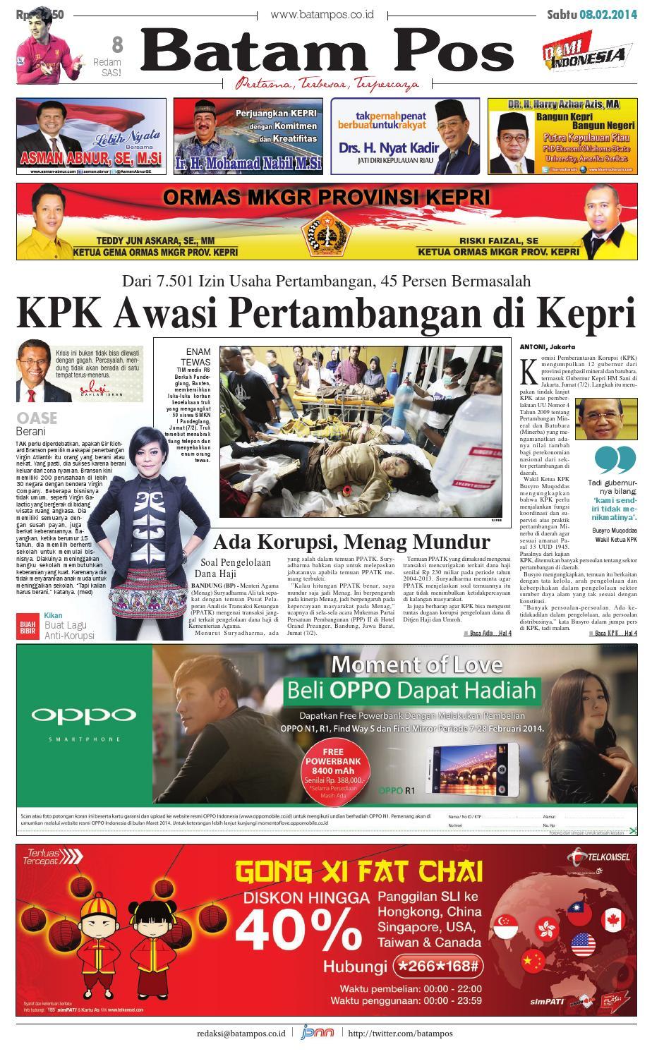 23 November 2013 By Batampos Newspaper Issuu Produk Ukm Paul Aksesories Id Card Leather Kartu Pengenal Kulit Warna Tan 8 Februari 2014