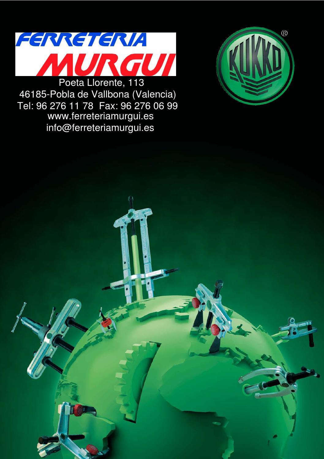 Kukko 201-0 Extractor de 2 Patas Reversibles y articuladas 100 x 75 mm