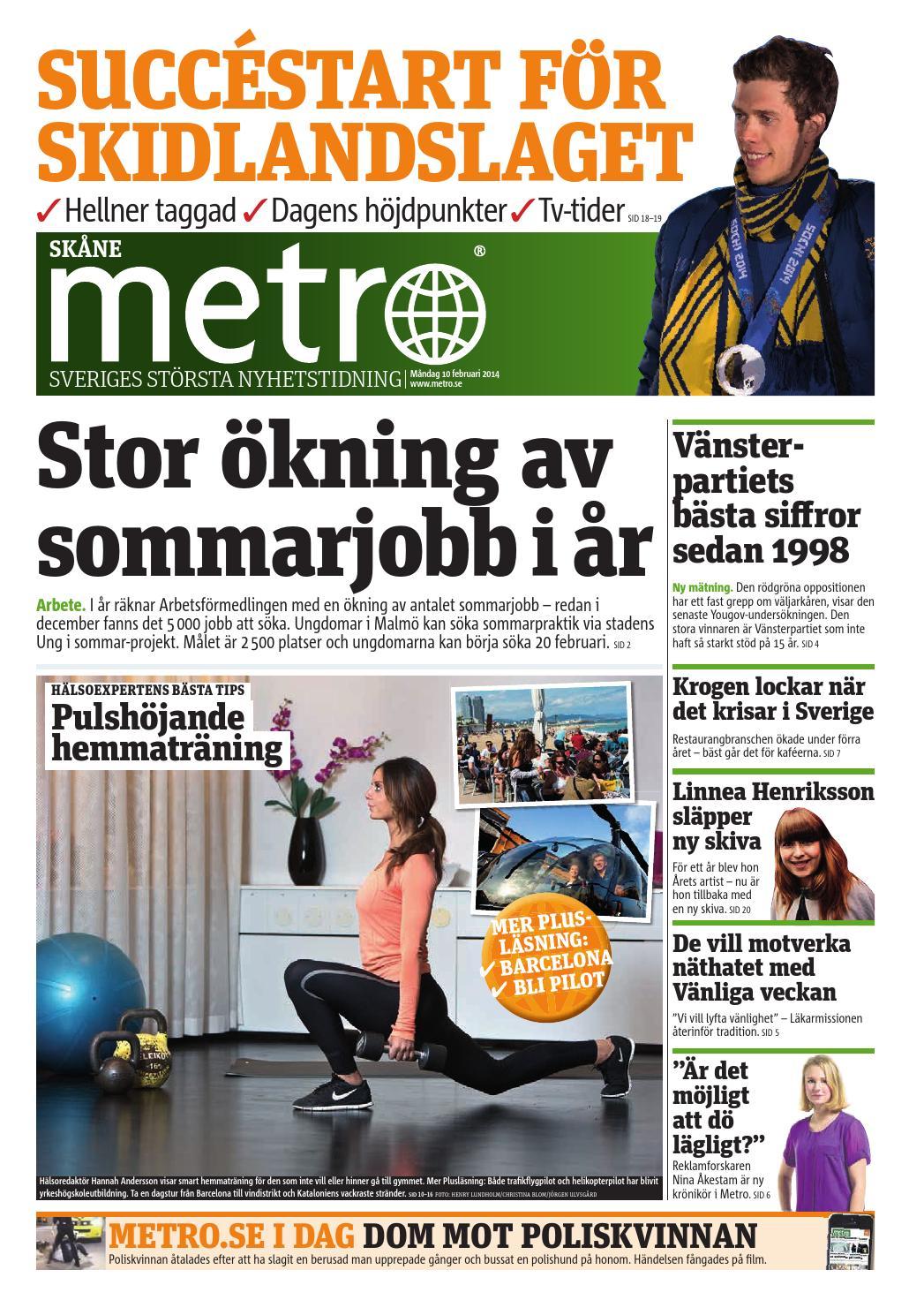 e62545fdbe6 20140210_se_malmo by Metro Sweden - issuu