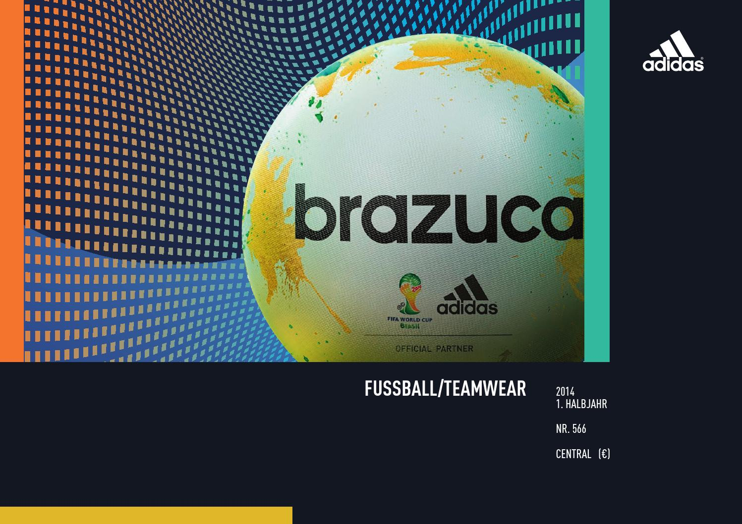 Adidas Teamsport Katalog 20142015 by schmiddesign