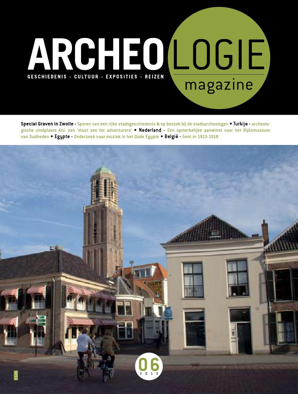 4b4abec2fc4 Archeologie Magazine 6 van 2013 by Fenneke Visscher - issuu