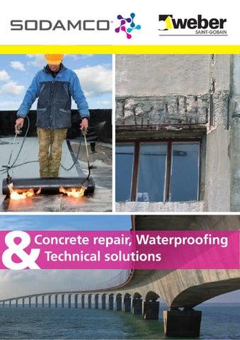 Repair & waterproofing brochure 2014 by Weber issuu