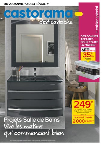 Catalogue Castorama By Catalogue Brochure Issuu - Plinthe carrelage et tapis de bain bleu lagon