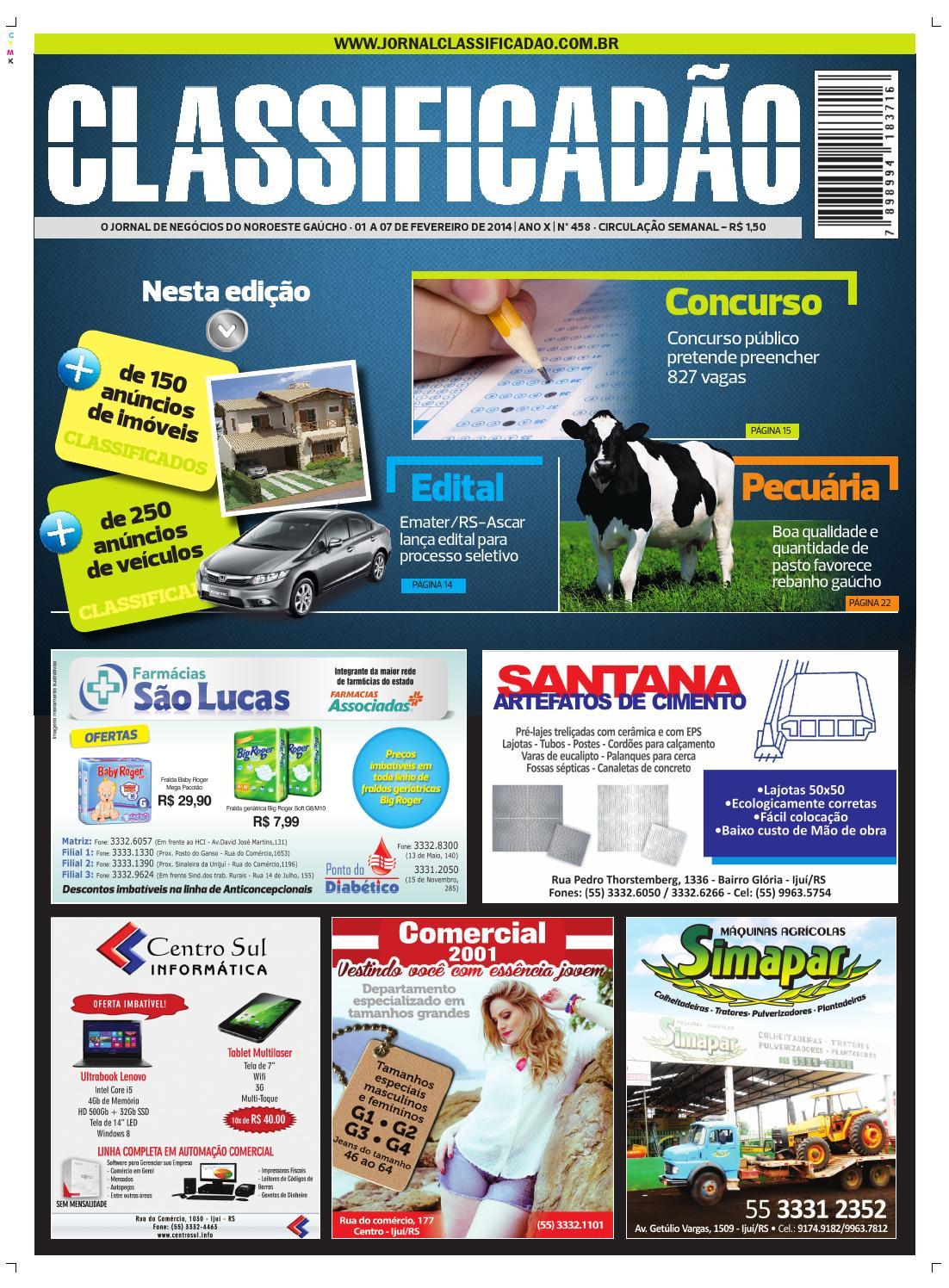 4d78c7ae3d Jornal Classificadão - Edição 458 by Jornal Classificadão - issuu