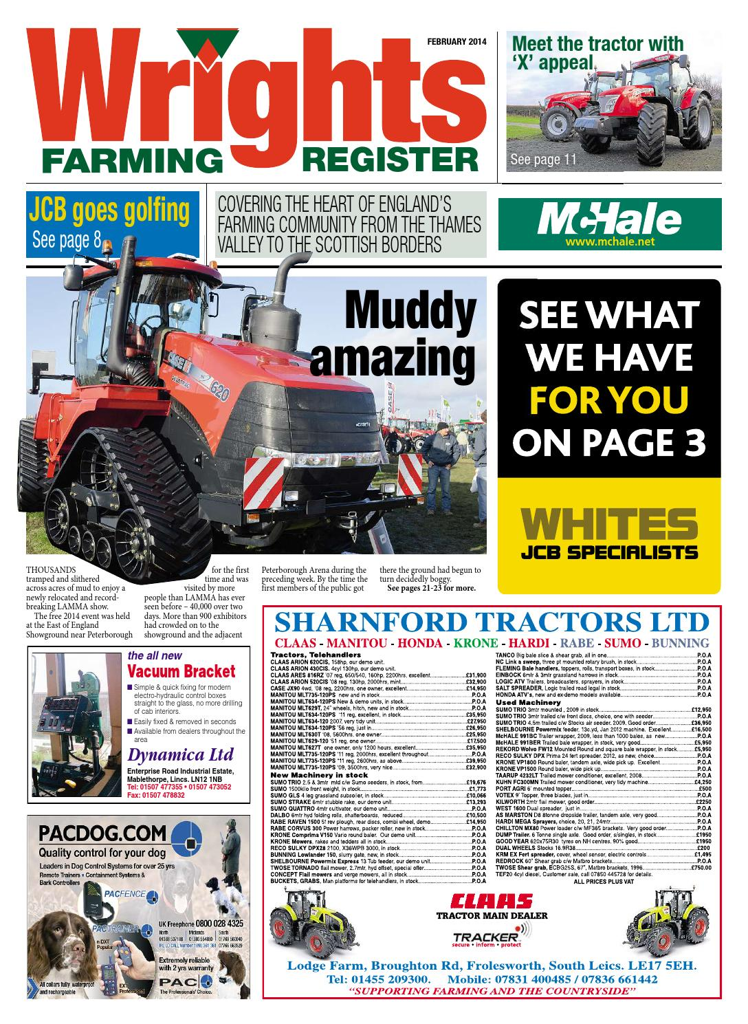 Wrights Farming Register - February 2014 - Full Edition by Mortons Media  Group Ltd - issuu