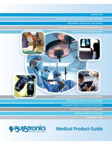 Medical Bulb Catalog by Natalie J  D'Angelo - issuu