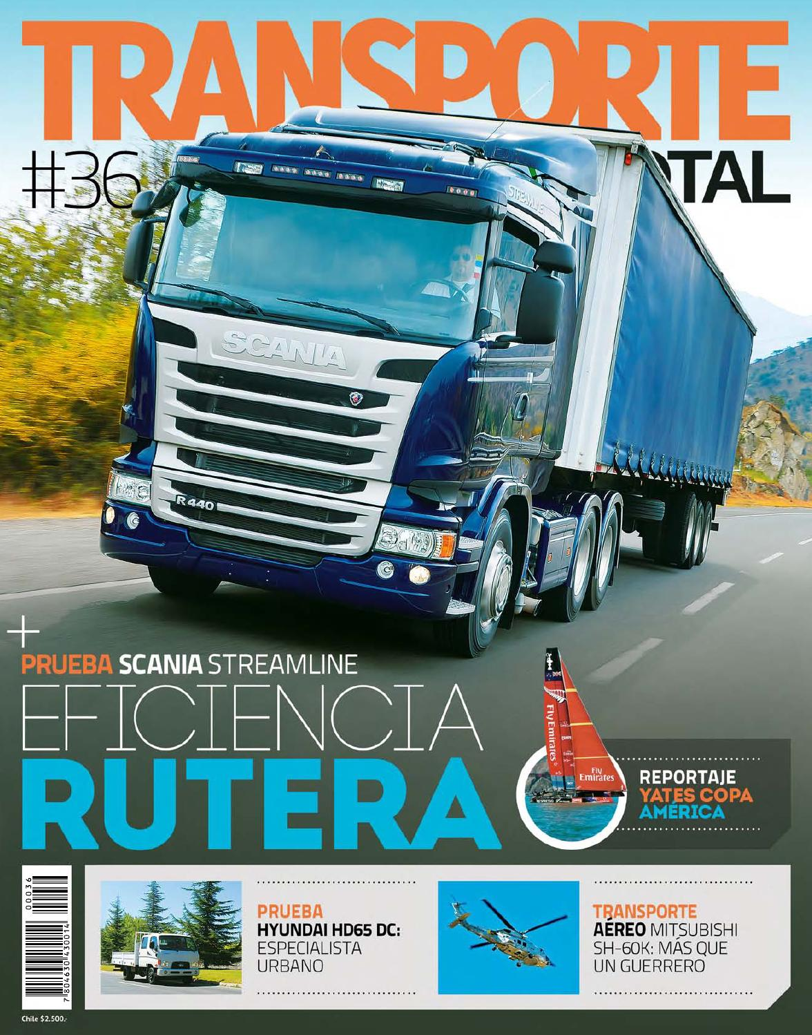 Transporte Total Chile (nro 36 Octubre 2013 - completa) by RS Chile ...