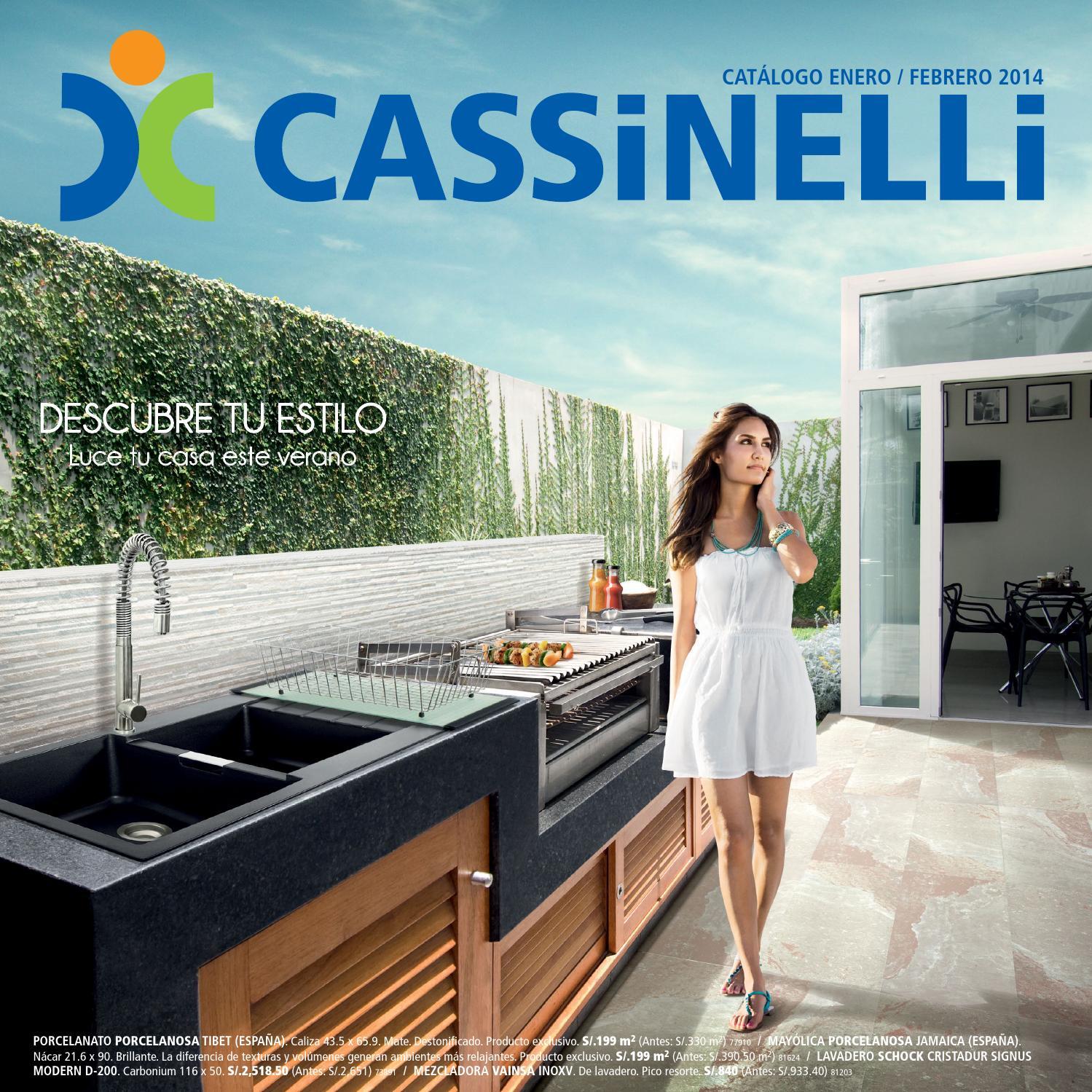 Cat logo enero febrero 2014 by cassinelli issuu - Modelos de grifos ...