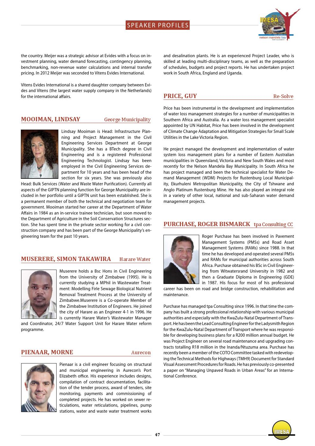 Imesa conference proceedings 2013