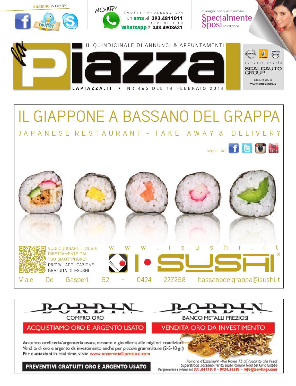 Piazza465 by la Piazza di Cavazzin Daniele - issuu 6372a356c1ce