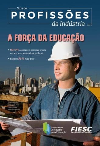 Guia de Profissões da Indústria by FIESC - issuu f67afbf7b8
