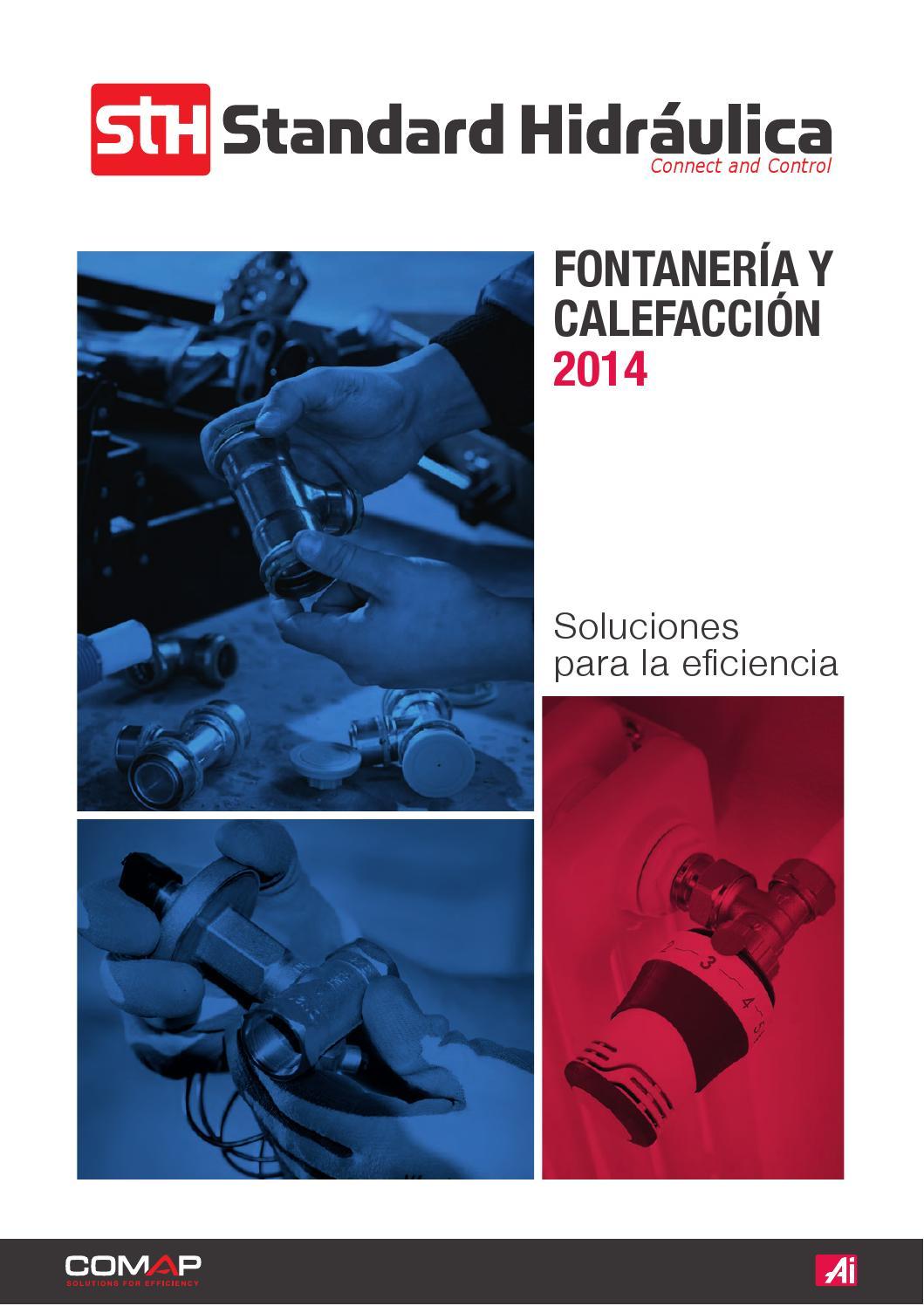 Fontaneria y calefaccion 2014 by Standard Hidraulica / Clever ...