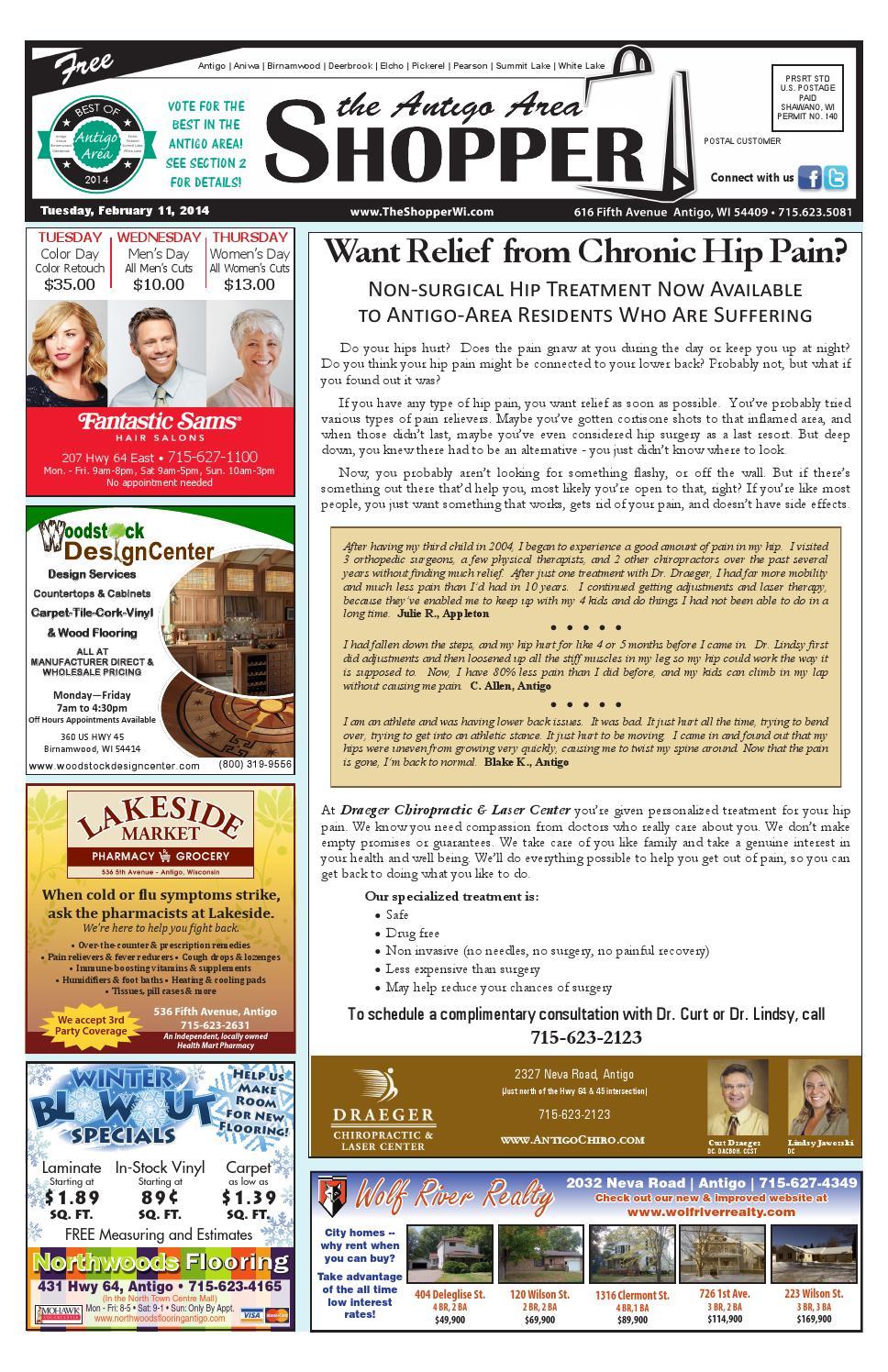 Antigo Area Shopper 02/11/2014 by Antigo Area Shopper - issuu