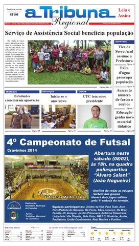 jornal A Tribuna Regional de Cravinhos by Leandro Cavalcanti - issuu 95e85acb93eda