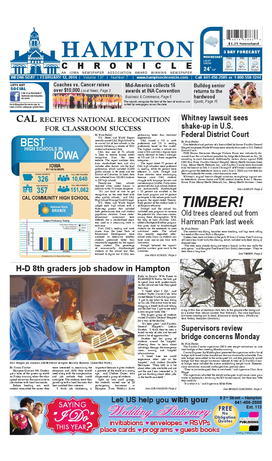 Hampton chronicle february 12 2014 by mid america publishing hampton chronicle february 12 2014 by mid america publishing corporation issuu fandeluxe Gallery