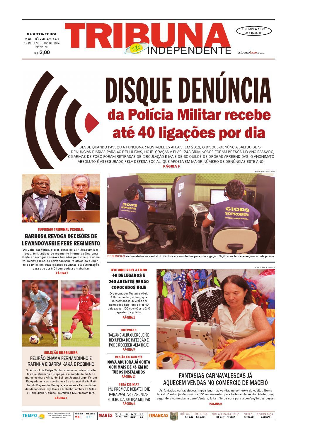 50ca94094e9 Edição número 1970 - 12 de dezembro de 2014 by Tribuna Hoje - issuu