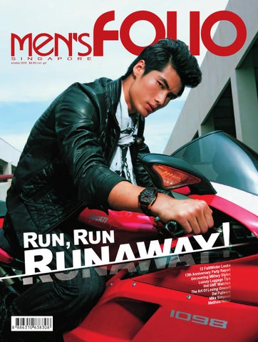 9505980a09fd Men s Folio Singapore October 2010 by Paperplane Creative - issuu