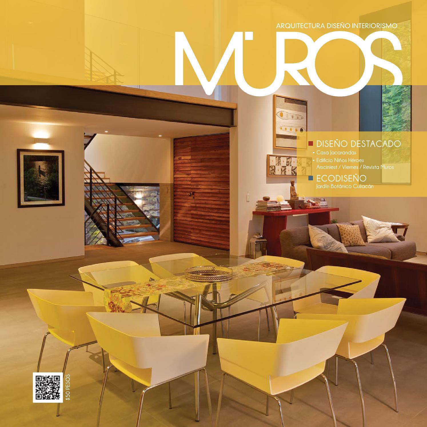 Edici n 9 revista muros arquitectura dise o interiorismo for Revista arquitectura y diseno