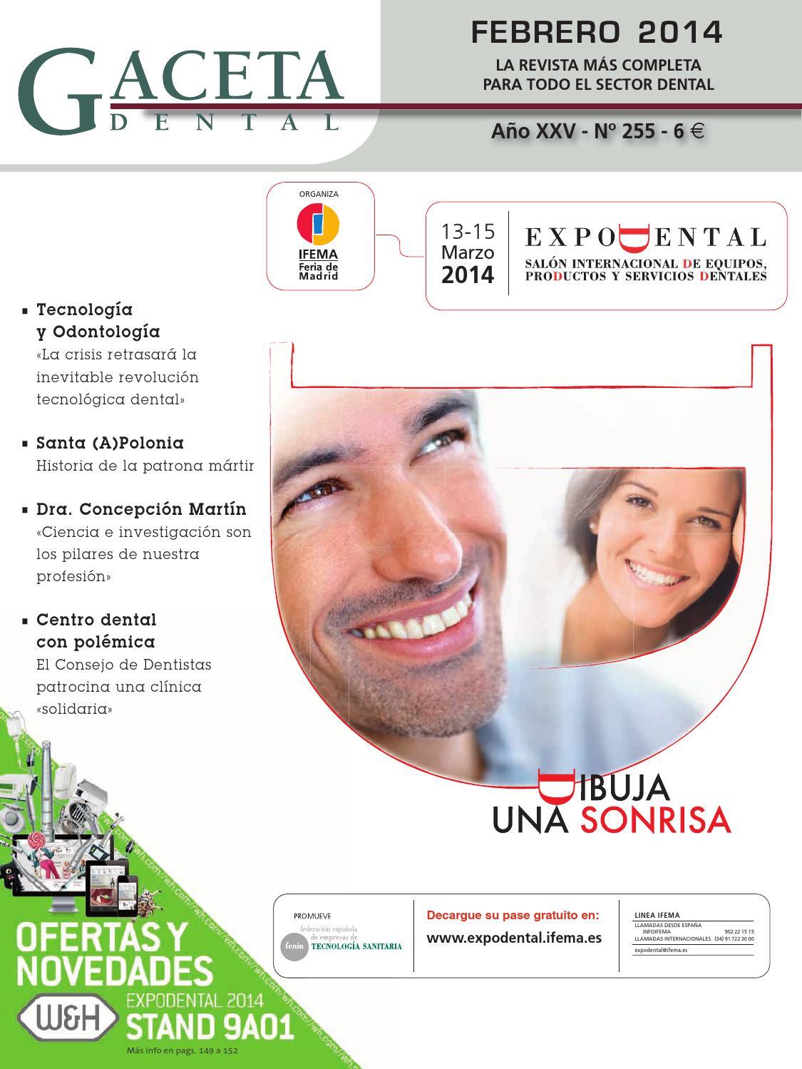 Gaceta Dental - 255 by Peldaño - issuu f7e8b0984561