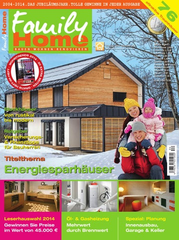 FamilyHome 3 4/2014 By Family Home Verlag GmbH   Issuu
