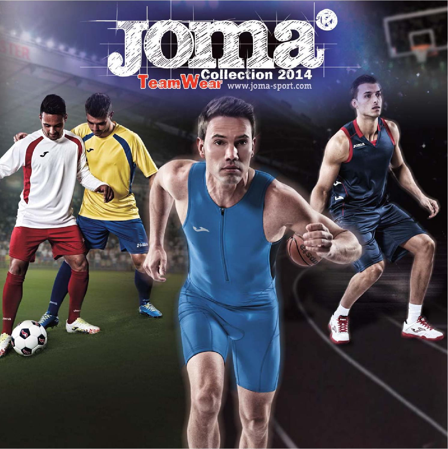 TEAMWEAR COLLECTION 2014 by JOMA SPORT - issuu