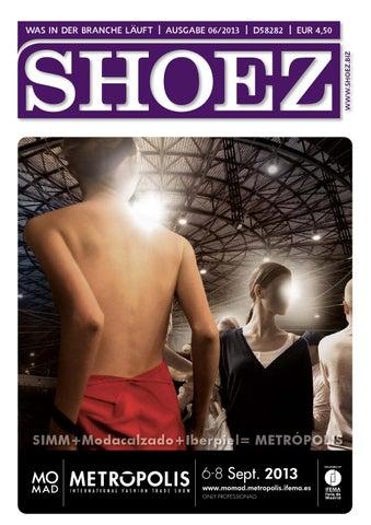 outlet store 10e02 bf4d2 Shoez Ausgabe Juni 2013 by SHOEZ – Das Fachmagazin für die ...