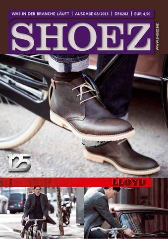 Shoez Ausgabe August 2013 by SHOEZ – Das Fachmagazin für die