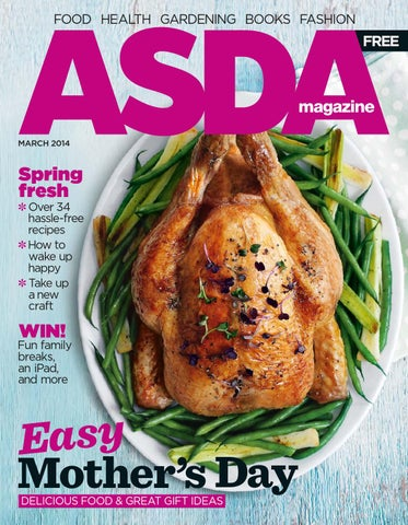 Asda magazine march 2014 by asda issuu page 1 negle Image collections