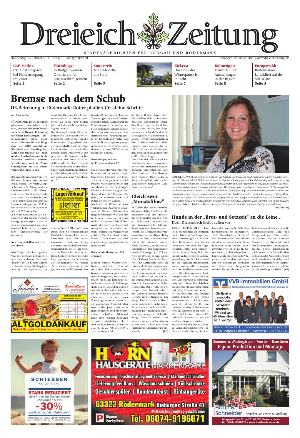 Dz Online 007 14 E By Dreieich Zeitung Offenbach Journal
