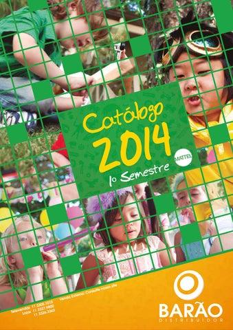 96ff1ea34c408 Completo catálogo mattel 1°sem2014 low by baraodistribuidor - issuu